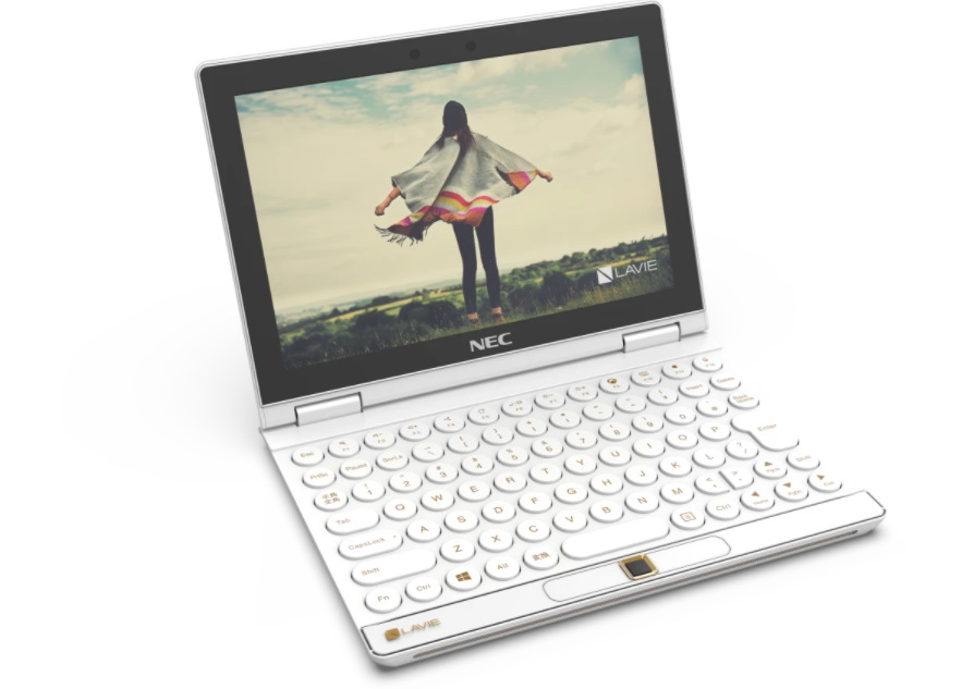Lavie Mini works as a portable PC or mobile game console