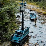 Rheinmetall's new armed surveillance robot also provides fire support