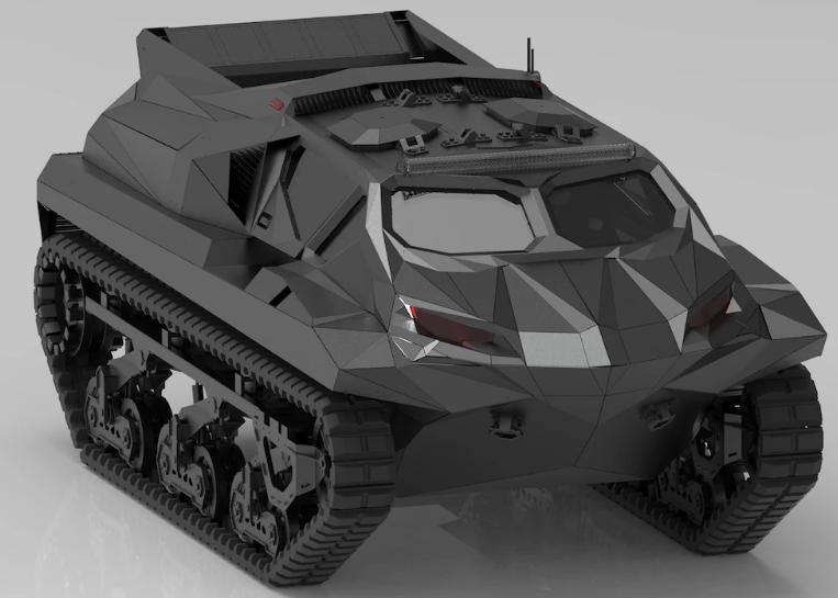 Meet storm hybrid amphibious MPV 3