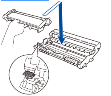 how to Insert toner cartridge